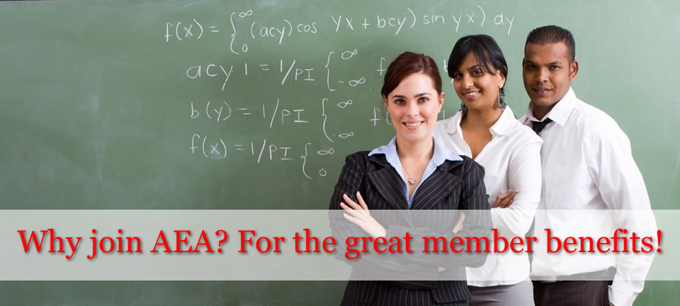 Join AEA for great benefits